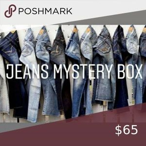 Jeans Mystery Resellers Bundle box 5 Items